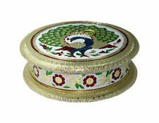 "New Meenakari Mukhwas Box/ Dry Fruit BOX/ Decorative Item 8"" x 8"""