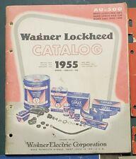New Listing1955 Wagner Lockheed Brake Catalog Au-500 St. Louis, Mo.