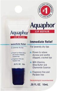 Aquaphor, Lip Repair, Immediate Relief, Fragrance Free, 10 ml UK SELLER FREE P&P