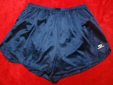"Brooks Men's Royal Blue White 3"" Inseam Lined Flyaway Running Shorts XL"