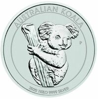 2020 Australian Koala 1 Kilo Coin
