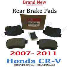 2007- 2011 Honda CR-V Genuine Factory OEM Rear Brake Pad Set