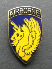 AIRBORNE 13TH A/B DIV DIVISION US ARMY LAPEL PIN BADGE 1 INCH