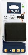 Digitek F960 970 Rechargeable Li-ion Battery for sony handycam + 1YR Warranty