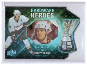 Corey Perry 2011-12 Black Diamond Hardware Heroes Card #HH-PE /100