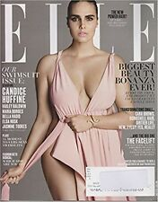 ELLE MAGAZINE MAY 2017 CANDICE HUFFINE SWIMSUIT ISSUE NEW&UNREAD DAY U PAY SHIPS