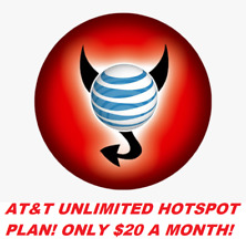 At&T Unlimited 4G Lte Hotspot- $20 A Month!