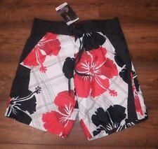 """Mens Hawaiian Board Shorts montaña tamaño real S (33"""") la Cintura Nuevo con etiquetas"""