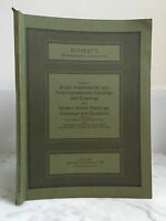 Catalogue Di Vendita Sotheby's British Impressionista Novembre 1981