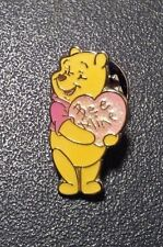Disney Japan Valentine's Day Winnie Pooh Through the Holidays JDS LE Mini Pin