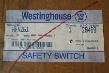 WESTINGHOUSE HFN261 SAFETY SWITCH