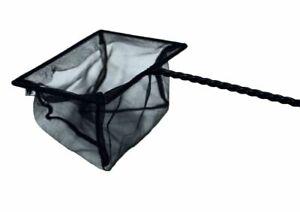 Verschiedene Fischkescher Größe 8-25cm schwarz Fangnetz Kescher Fischnetz Fisch