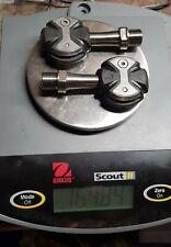 Speedplay Zero Black Pedals Titanium , 50mm, no cleats