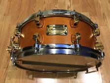 "YAMAHA Maple Custom Vintage MSD0115 - 14"" x 5.5"" Snare Drum - Natural / Gold QHX"