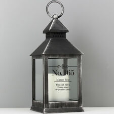 Personalised LED Lantern Light Home Candle New Home Gift Christmas Wedding Decor