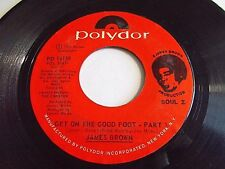 James Brown Get On The Good Foot Part I & II 45 1972 Polydor Vinyl Record