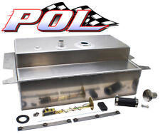 Performance Online 55-59 Chevy Truck 19 Gallon Aluminum Fuel Gas Tank Combo Kit