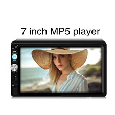 "7"" 2 Din Car Stereo Radio FM/MP5 Player Bluetooth HD Touch Screen W/ Rear camera"