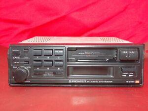 Pioneer KE-2090 Vintage 80s Cassette Car Stereo w. Bluetooth Upgrade Refurbished