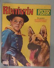 RINTINTIN POSTER N° 11 DE 1980 avec poster