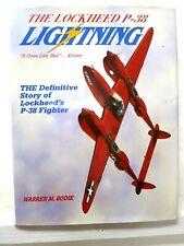 Lockheed P-38 Lightning, W M Bodie, 1991, Widewing - 1st edition - DJ