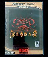 Diablo (1) PC CD-ROM Portuguese Version Brazil Brasil