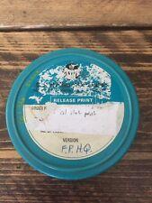 Vintage Cecolite 16mm FilmReel Tin Canister Projector 200ft Plastic London