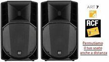 "COPPIA RCF Art 712A mk4 Casse amplificate attive professionali 12"" 2800W"