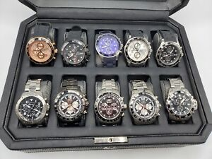 Lot of 10 Invicta Men's Watches