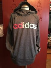 Women's Adidas Hoodie Grey Ombré Size Small