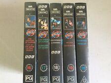 BLAKES 7.VHS .CASSETTES 16-20. CULT TV SHOW.BBC SCI FI 1970S