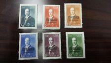 Finland, Karelia 1941 Finnish Occupation/President Ryti, 6 stamps, hinged