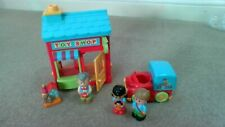 ELC HAPPYLAND TOY SHOP BUNDLE WITH  FIGURES AND SOUND EFFECTS