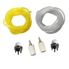 3 Feet Fuel Lines Filter Snap in Primer Bulb Chainsaw Accessaries Set Tool