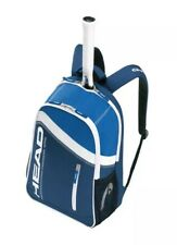New With Tags Head Core Professional Tennis Backpack Blue & White Squash Rare