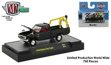 1:64 M2 Machines *AUTO-TRUCKS 61* BLACK CHASE 1978 Datsun Tow Truck NIB