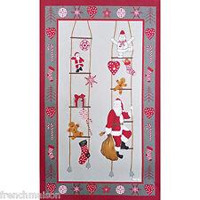 BEAUVILLE French Dish Towel Santa Claus Heart Christmas Tree Papa Noel + GIFT