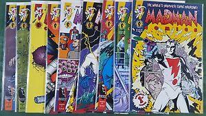 Madman 1994 #1-9 Complete Run Dark Horse vf/nm bagged boarded