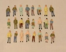 50 x Mixed Model People Figures OO Gauge 1:76 for Hornby Railway Trainset