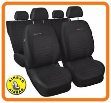 CAR SEAT COVERS full set fit VW Volkswagen Passat - charcoal grey (P4)