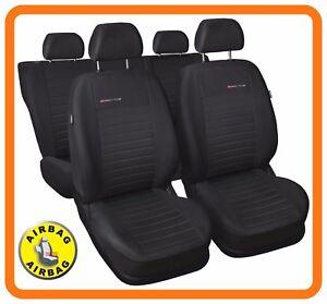 CAR SEAT COVERS full set fit Volkswagen Tiguan - charcoal grey (P4)