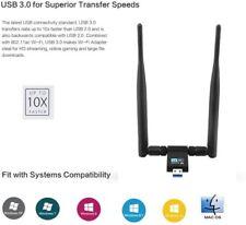 1200M WIFI WLAN Stick Adapter 2,4/5 GHz Dual Band USB 3.0 IEEE 802.11 a/ac/b/g/n