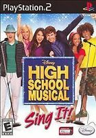 ❤️Disney High School Musical: Sing It (Sony PlayStation 2, 2007) PS2 Complete