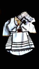 Albanian traditional costume folk handmade for girls 3-4 years old Shqiptare