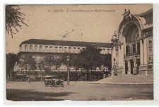 TONKIN INDOCHINE VIETNAM SAIGON #18608 LE THEATRE MUNICIPAL ET HOTEL CONTINENTAL