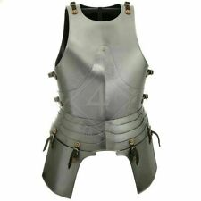 Medieval Larp Cuirass Battle Breast-Plate Knight Armor Jacket With Tassets Gift
