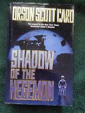 Shadow of the Hegemon by Orson Scott Card 2001 HC/DJ 1st/1/st ENDER'S GAME