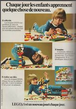 Publicité de presse Lego,   french press ad 1979