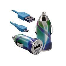 Chargeur voiture allume cigare USB avec câble data CV03 pour Thomson : Nimble TH