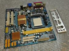 Gigabyte GA-MA74GM-S2H REV.1.1 Zócalo AM2 placa madre con placa de E/S